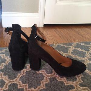 Black Mary Jane heels size 8.5